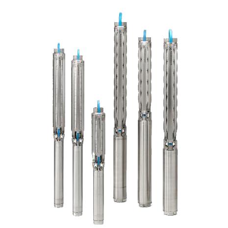 ปั๊มน้ำบาดาลสเตนเลส รุ่นSP7- 5 Rp1½ 4″1X230/50 0.75kW